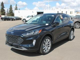 New 2021 Ford Escape Titanium | Hybrid | AWD | Wireless Charging | Moonroof | Adaptive Cruise for sale in Edmonton, AB