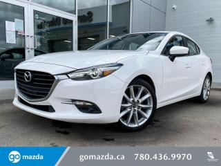 Used 2018 Mazda MAZDA3 GT - CLOTH, MANUAL, NAV, BOSE, AND MORE! for sale in Edmonton, AB