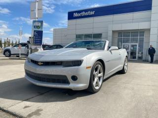 Used 2015 Chevrolet Camaro 2LT/CONVERTABLE/LEATHER/BACKUPCAM/HETAEDSEATS for sale in Edmonton, AB