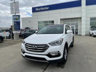 Used 2018 Hyundai Santa Fe Sport LUXURY AWD/PANOROOF/LEATHER/HEATEDSEATS for sale in Edmonton, AB