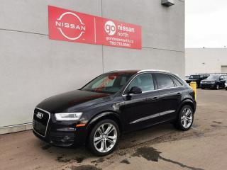Used 2015 Audi Q3 TECHNIK/QUATTRO/PANO ROOF/LED HEADLIGHT for sale in Edmonton, AB