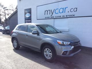 Used 2019 Mitsubishi RVR HEATED SEATS, ALLOYS, BACKUP CAM, BLUETOOTH!! for sale in Kingston, ON