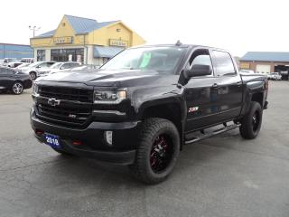 Used 2018 Chevrolet Silverado 1500 LTZ CrewCab Z71 4x4 6.2L 5.5ftBox RoofNavLeather for sale in Brantford, ON