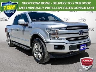 Used 2018 Ford F-150 Lariat Sport 4x4/Navi/20 Wheels/Remote Start for sale in St Thomas, ON