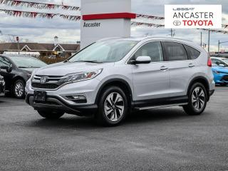 Used 2015 Honda CR-V Touring TOURING| LEATHER| SUNROOF| HEATED SEATS| PUSH BUTTON for sale in Ancaster, ON