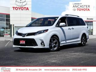 Used 2018 Toyota Sienna SE | 8 PASS | CLEAN CARFAX | SAFETY SENSE for sale in Ancaster, ON