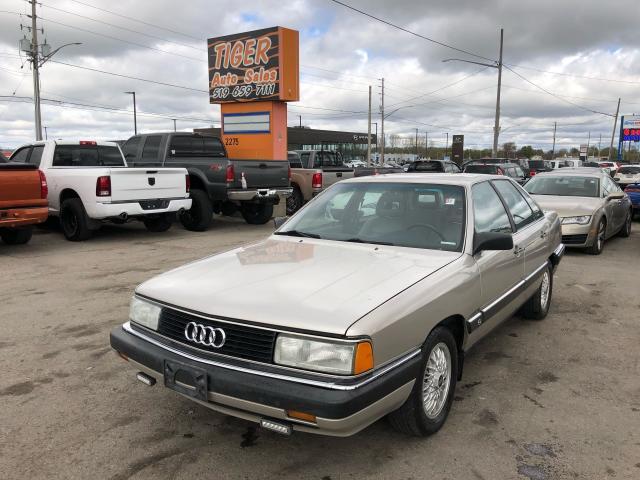 1986 Audi 5000 Turbo