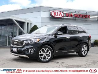 Used 2017 Kia Sorento 2.0L SX SX-TURBO /AWD/Leather/Panoramic Sunroof/Navigation/Heated and cooled seats/Premium Sound system for sale in Burlington, ON
