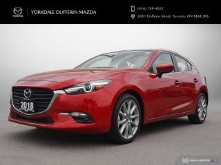 Used 2018 Mazda MAZDA3 GT at ONE OWNER / LOW KMS! for sale in York, ON