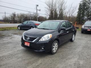 Used 2012 Nissan Versa 1.6 SL w/ NAVIGATION SUPER LOW KMS CERTIFIED for sale in Stouffville, ON