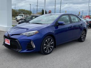Used 2017 Toyota Corolla XSE-LEATHER+NAV+MORE! for sale in Cobourg, ON