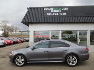 Used 2012 Volkswagen Passat LOW KM,CERTIFIED,LOADED WITH LEATHER,SUNROOF,ALLOY for sale in Mississauga, ON