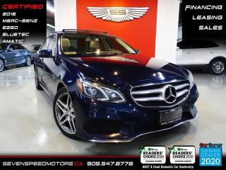Used 2016 Mercedes-Benz E-Class E250 | CARFAX CLEAN | CERTIFIED | FINANCE | 9055478778 for sale in Oakville, ON