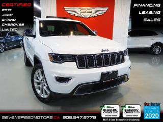 Used 2017 Jeep Grand Cherokee LIMITED | LUXURY 2 | CLEAN CARFAX | CERTIFIED | FINANCE | 9055478778 for sale in Oakville, ON