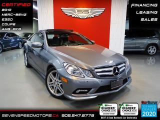 Used 2010 Mercedes-Benz E-Class for sale in Oakville, ON