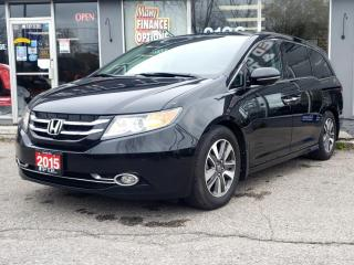 Used 2015 Honda Odyssey 4DR WGN TOURING W/RES & NAVI for sale in Bowmanville, ON