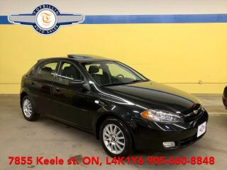 Used 2007 Chevrolet Optra5 LT Auto, Sunroof, 2 Years Warranty for sale in Vaughan, ON