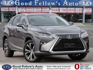 Used 2017 Lexus RX 350 LAXURY PKG, LEATHER SEATS, SUNROOF, NAVIGATION for sale in Toronto, ON