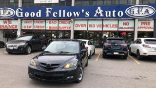Used 2009 Mazda MAZDA3 GS MODEL, 2.3L 4CYL, ALLOY, HATCH BACK, FWD for sale in Toronto, ON