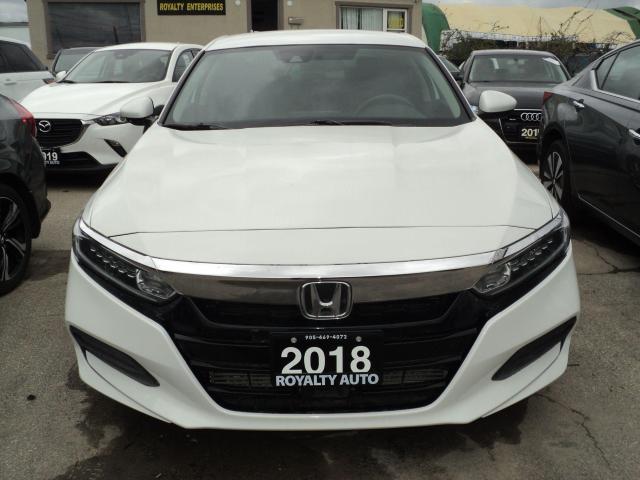 2018 Honda Accord LX 1.5T CAMERA CLEAN CAR FAX