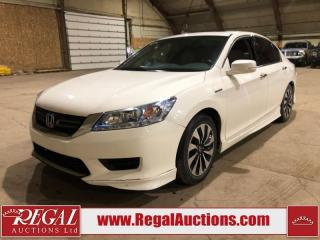 Used 2014 Honda Accord Hybrid TOURING 4D SEDAN FWD for sale in Calgary, AB