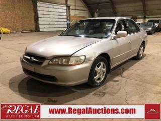 Used 1999 Honda Accord 4D Sedan for sale in Calgary, AB