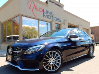 Used 2017 Mercedes-Benz C-Class AMG C 43 Navigation.360Camera.Burmester.Panoramic for sale in Kitchener, ON