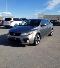 Used 2011 Kia Forte Koup SX I $0 DOWN-EVERYONE APPROVED!! for sale in Calgary, AB