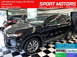 Used 2019 Hyundai Santa Fe Preferred AWD+ApplePlay+BlindSpot+CLEAN CARFAX for sale in London, ON
