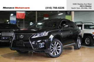 Used 2013 Lexus RX 350 RX350 - F SPORT|NAVI|BACKUP|SUNROOF|MARKLEVINSON for sale in North York, ON