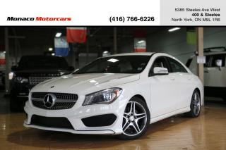 Used 2014 Mercedes-Benz CLA-Class CLA250 - AMG|LEATHER|BACKUP|BLINDSPOT|LANEKEEP for sale in North York, ON
