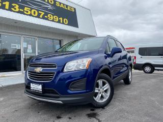 Used 2016 Chevrolet Trax LT AWD! BOSE AUDIO! POWER DRIVERS SEAT! for sale in Kingston, ON