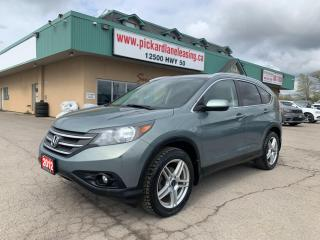 Used 2012 Honda CR-V AS-IS | CRV TOURING! | ONE OWNER! for sale in Bolton, ON