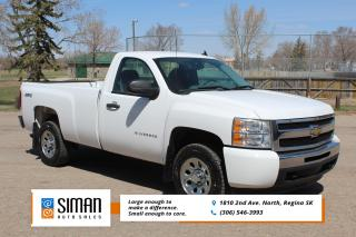 Used 2011 Chevrolet Silverado 1500 WT LOW KM  KM 4X4 8 Ft BOX for sale in Regina, SK