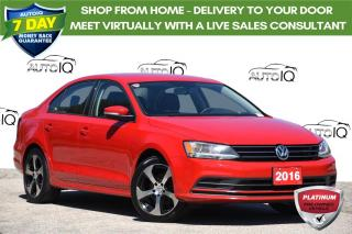 Used 2016 Volkswagen Jetta 1.4 TSI Trendline ONE OWNER | AUTOMATIC | LOW KMS for sale in Kitchener, ON