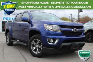 Used 2016 Chevrolet Colorado CREW CAB 4X4 Z71 CERTIFIED! for sale in Hamilton, ON