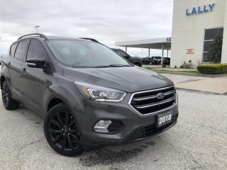 Used 2018 Ford Escape Titanium TITANIUM|AWD|HTD SEATS|NAV|SUNROOF|REMOTE START|TRAILER TOW for sale in Leamington, ON