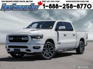 Used 2019 RAM 1500 SPORT   HOOD   22s   PANO ROOF   HTD STS & MORE!!! for sale in Milton, ON