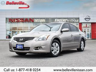 Used 2011 Nissan Altima 2.5 S 1 OWNER LOCAL TRADE, HEATED SEATS, CLEAN CAR for sale in Belleville, ON
