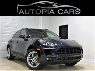 Used 2018 Porsche Macan AWD LANE ASSIST NAVI REAR VIEW CAM ACCIDENT FREE for sale in North York, ON