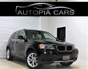 Used 2013 BMW X3 AWD 28i NAVIGATION REAR VIEW CAMERA PANORAMIC for sale in North York, ON