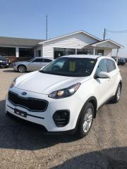 Used 2017 Kia Sportage LX ONE OWNER Local Lease Return LOW KM for sale in Petrolia, ON