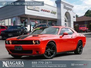 Used 2016 Dodge Challenger R/T LOCAL TRADE for sale in Niagara Falls, ON