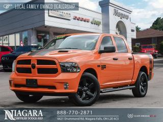 Used 2019 RAM 1500 Classic ST | NIGHT EDITION IN RARE ORANGE for sale in Niagara Falls, ON