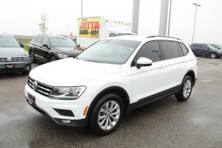 Used 2018 Volkswagen Tiguan 2.0T Trendline 4MOTION for sale in Whitby, ON