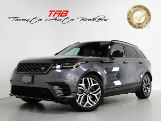 Used 2019 Land Rover Range Rover Velar P380 HSE R-DYNAMIC HSE I PANO I NAV I 21 IN WHEELS for sale in Vaughan, ON