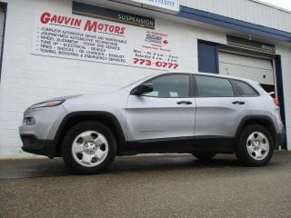 Used 2016 Jeep Cherokee Sport AWD LOADED HEATED SEATS &STEERING WHEEL for sale in Swift Current, SK