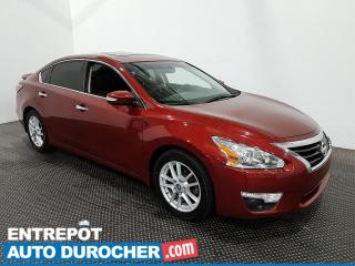 Used 2015 Nissan Altima SL - Navigation - Toit Ouvrant - Climatiseur - for sale in Laval, QC