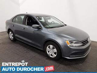 Used 2015 Volkswagen Jetta Sedan Trendline - Bluetooth - Climatiseur for sale in Laval, QC
