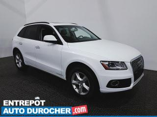Used 2017 Audi Q5 Komfort - AWD - Toit Ouvrant - Climatiseur - Cuir for sale in Laval, QC